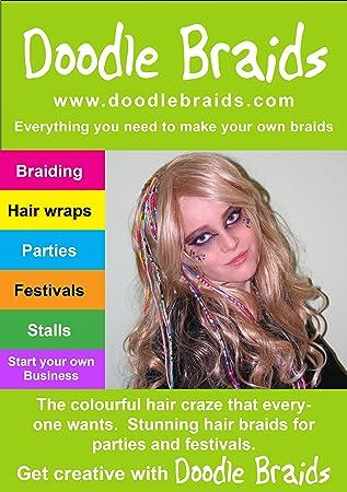 Hair Braiding Kit 10 Braids Amazon Co Uk Toys Games