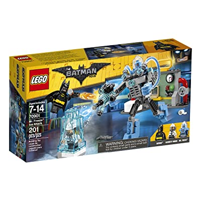LEGO BATMAN MOVIE Mr. Freeze Ice Attack 70901 Building Kit (201 Piece): Toys & Games