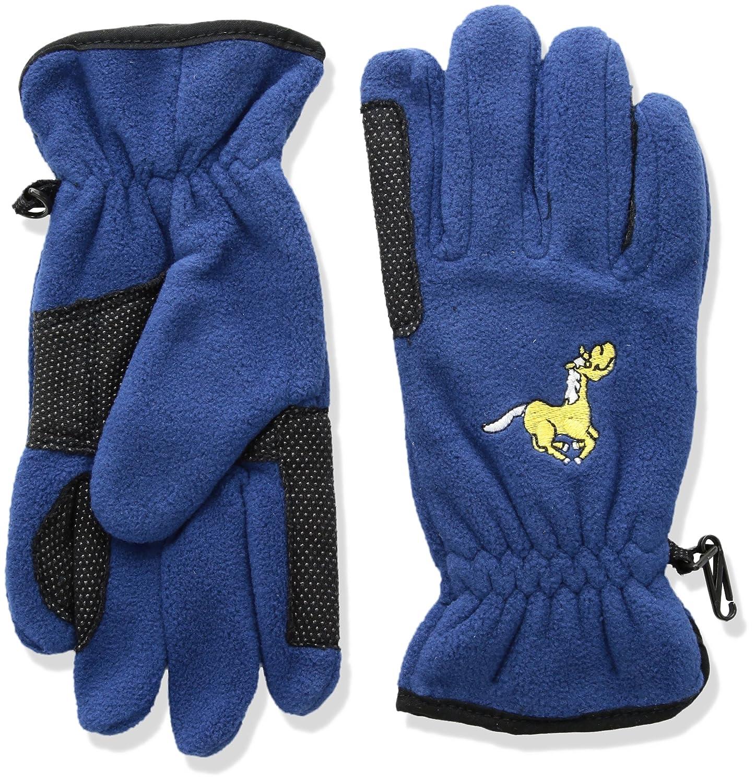 Equi-Star Childs Pony Fleece Glove - NAVY\LARGE EQUISTAR