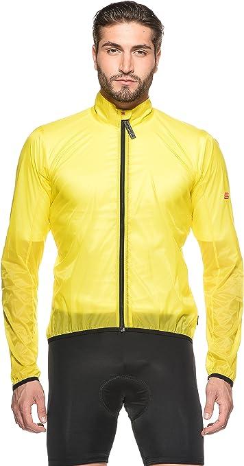 Sportful Chaqueta Bike Antivento Amarillo M: Amazon.es: Ropa y accesorios