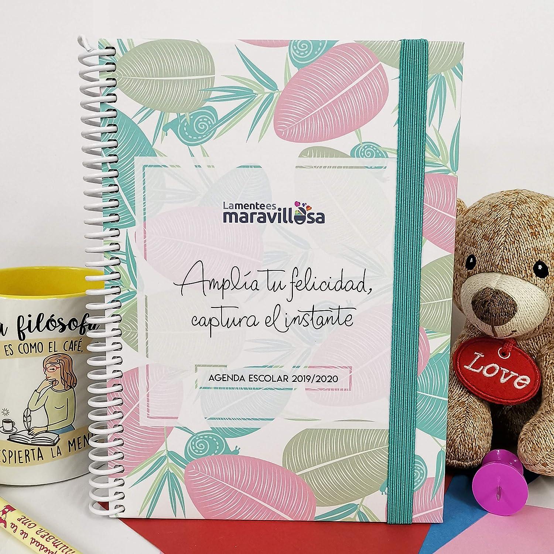 La Mente es Maravillosa - Agenda escolar 2019-2020 (Tamaño ...