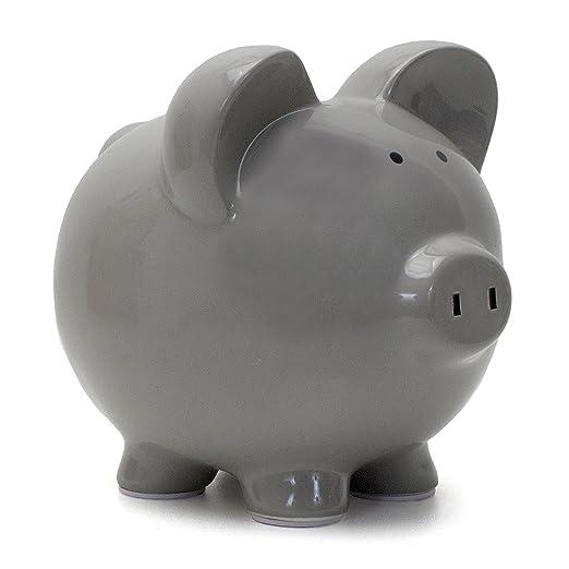 Unique Large White Piggy Bank