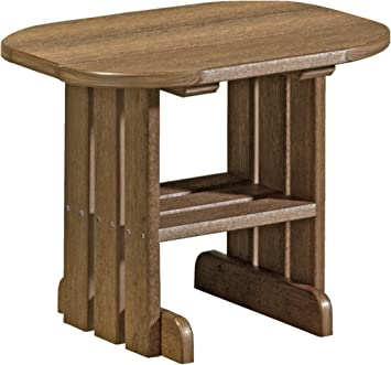 furniture barn usa poly end table antique mahogany - Antique Mahogany End Tables