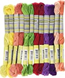 Sullivans Size 5 Pearl Cotton Pack (12 Pack), 15 yd, Fruit Fun