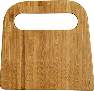 Mrs. Anderson's Baking 51002 Bench Dough Scraper, Natural Bamboo