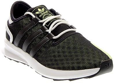 adidas Originals Men's SL Rise Fashion Sneaker, Black/White/Electricity, ...