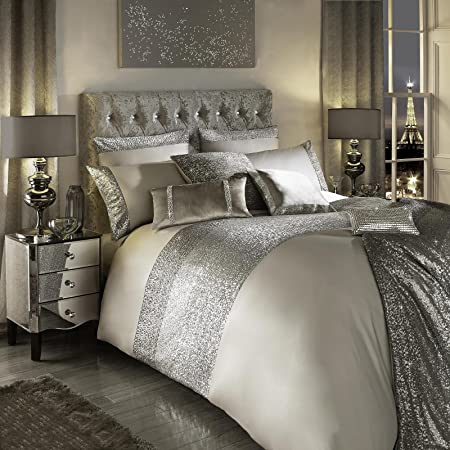Kylie Minogue 100% algodón 200TC edredón para cama juego