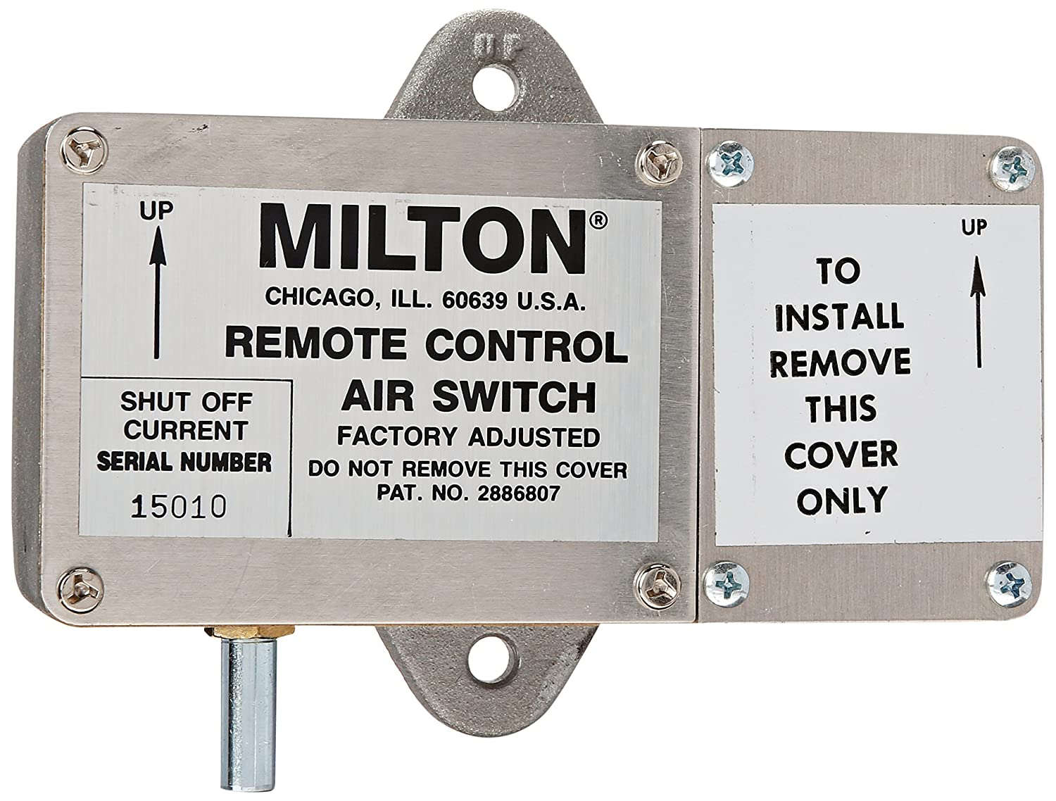 Milton 825 Air Switch