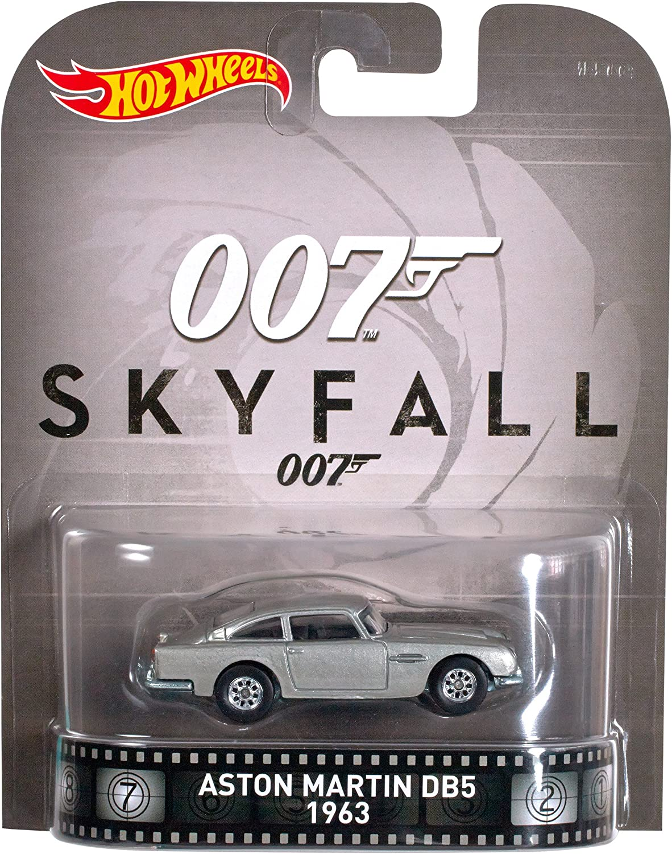 1963 Aston Martin Db5 James Bond 007 Skyfall 1 64 Hot Wheels Retro Entertainment Djf45 Amazon De Spielzeug