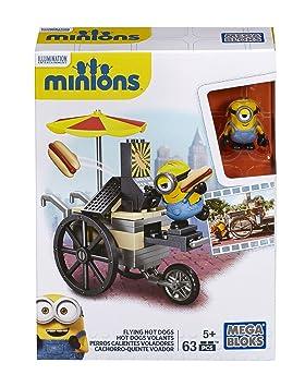 MINIONS - Juego de construcción, Hot Dogs voladores en París (Mattel CNF51)