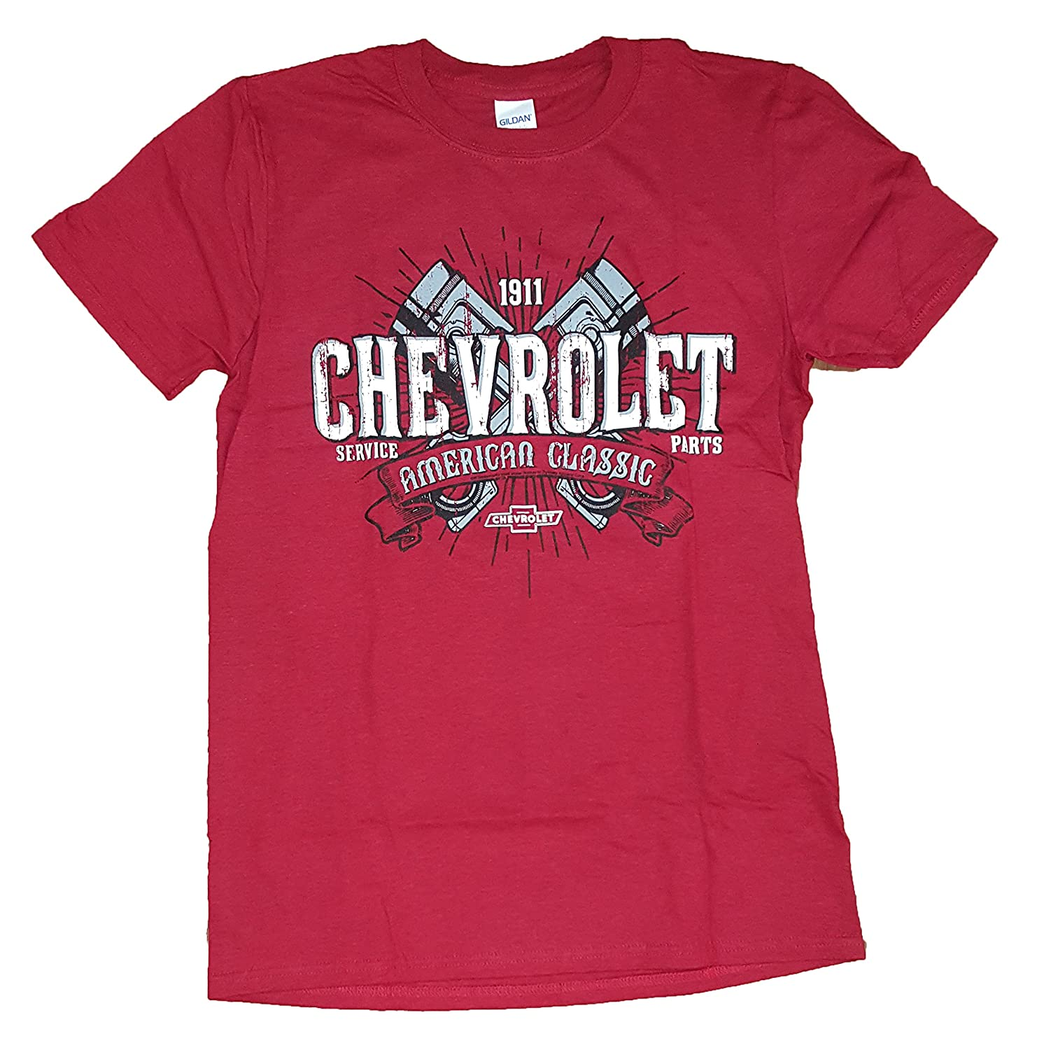 Chevrolet American Classic Red Graphic T-Shirt