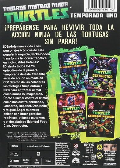 Amazon.com: Tortugas Ninja Teenage Mutant Ninja Temporada 1 ...