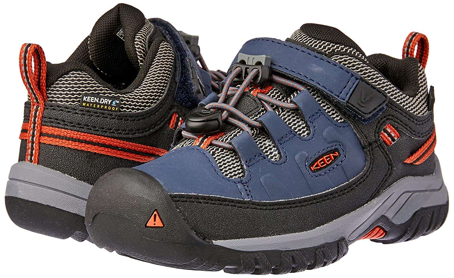 ac45118b32b4 Amazon.com  Keen Kids Mens Targhee Low WP (Little Kid Big Kid)  Shoes