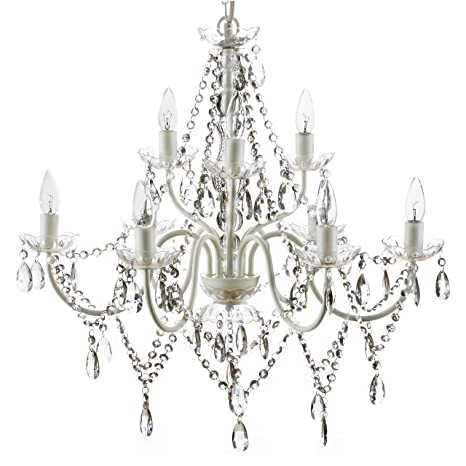 The Original Gypsy Color Extra Large 9 Light Crystal Chandelier H26