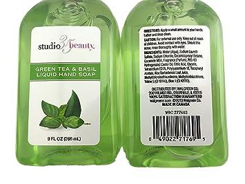 62daefa2a628 Amazon.com : Bundle Pack of Two (2) Studio 35 Green Tea and Basil ...