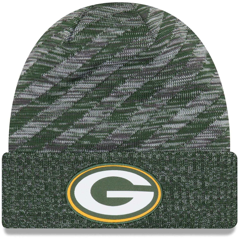 New Era NFL Sideline 2018 Knit Beanie - Green Bay Packers  Amazon.co.uk   Sports   Outdoors f3d55daa77aa
