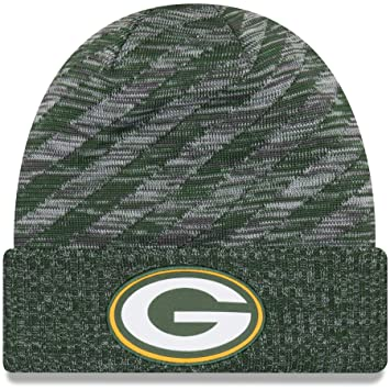 2a7628914e7 New Era NFL Sideline 2018 Knit Beanie - Green Bay Packers  Amazon.co ...