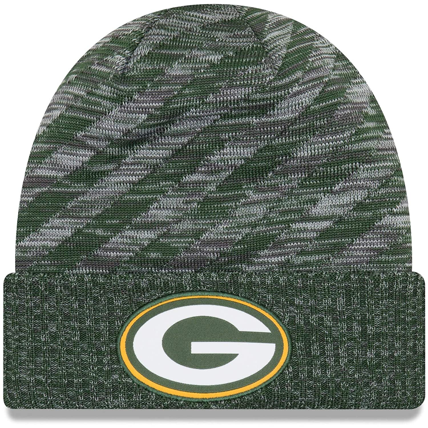 Amazon.com  New Era 2018 NFL Green Bay Packers Touchdown Stocking Knit Hat  Winter Beanie  Clothing 21166365579