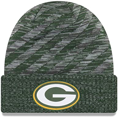 21db491cfecf3d Image Unavailable. Image not available for. Color: New Era 2018 NFL Green  Bay Packers Touchdown Stocking Knit ...