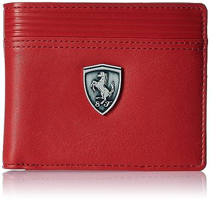 d9eb2c2029 Puma Red Men s Wallet (7349602)  Amazon.in  Bags