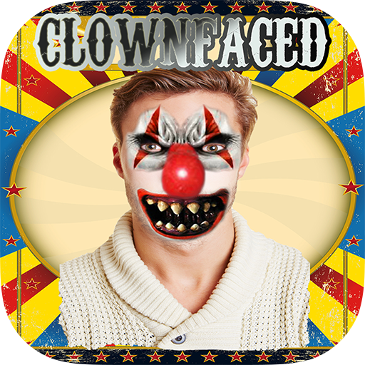 ClownFaced - The Scary Clown Horror Face Booth (Clown Faces Scary)