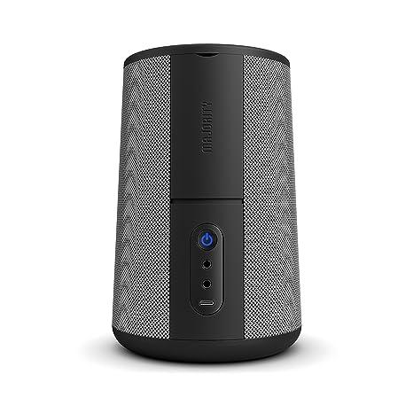 Hobson Amazon Alexa Echo Dot (Gen 1 and 2) 360 con bandeja de acoplamiento, Recargable y Batería Portátil, 20 horas de Portabilidad Sobre la Marcha, ...
