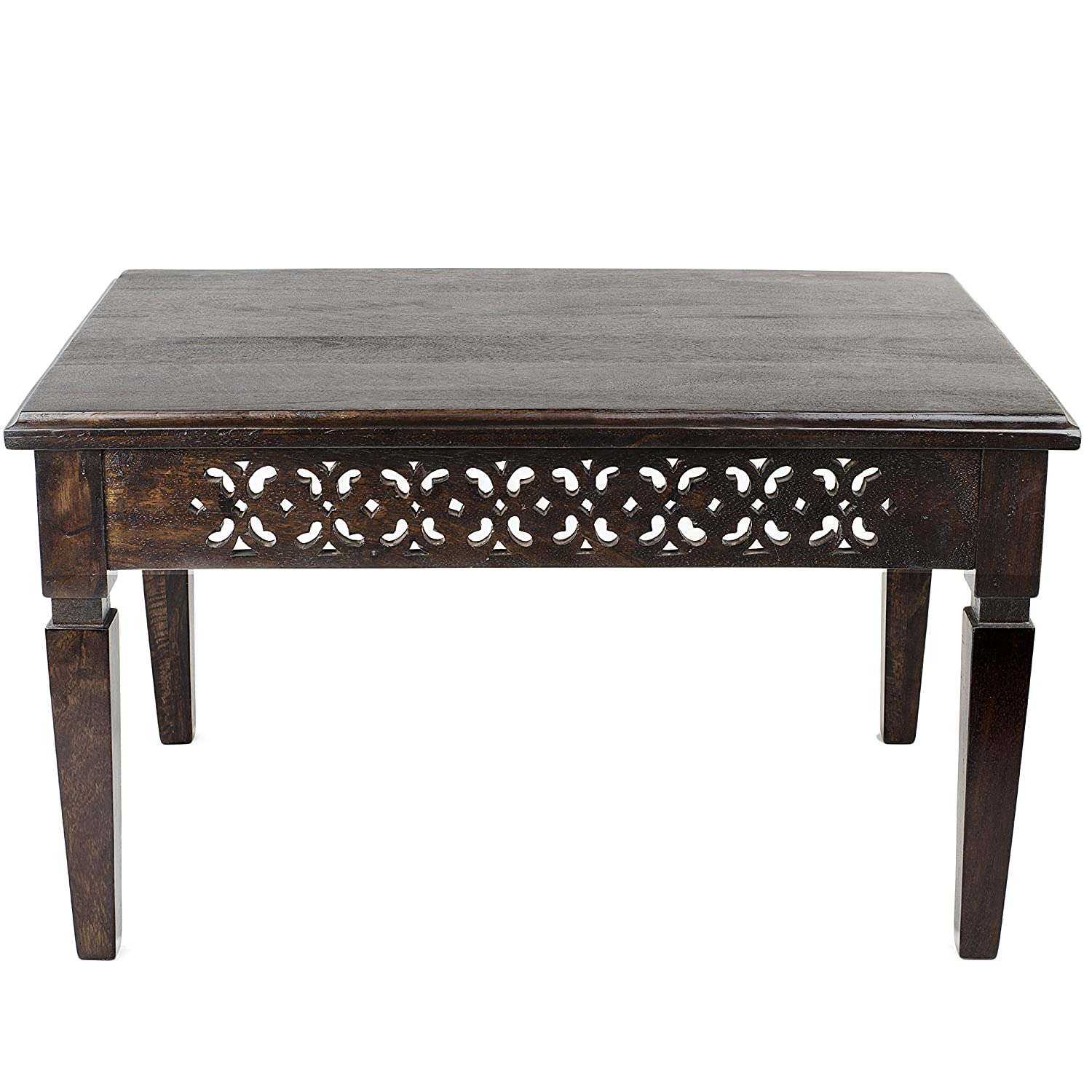 Swhf Beans Jali Cutting Coffee Table Amazon In Home Kitchen