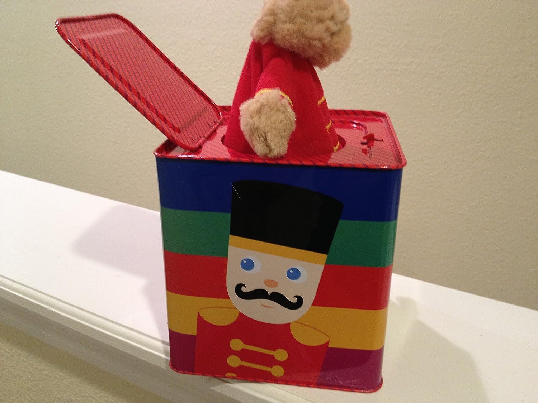 FAO Schwarz Solider Teddy Bear Jack-in-the-Box