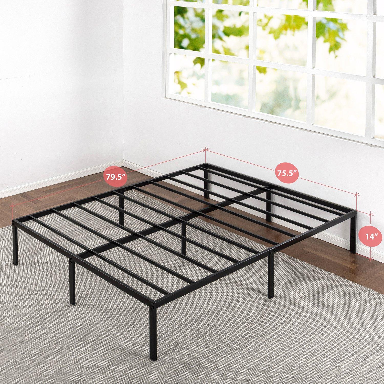 Amazon Com Best Price Mattress King Bed Frame 14 Inch Metal