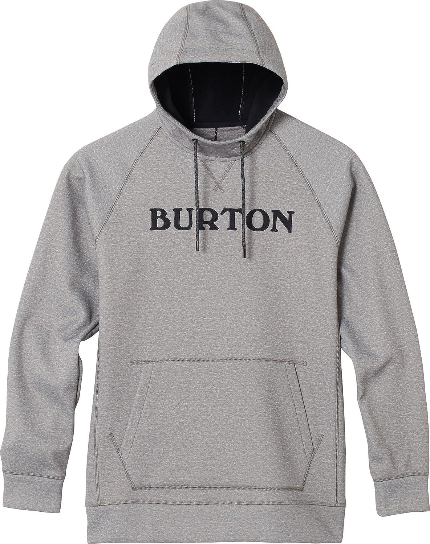 Burton(バートン) フーディー パーカー メンズ JPN CROWN BONDED PULLOVER HOODIE 2018-19年モデル XS~XLサイズ B07DLLH44M  MONUMENT HEATHER JPN XLサイズ