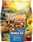 F.M. Brown's Tropical Carnival Gourmet Guinea Pig Food with Alfalfa and Timothy Hay Pellets, Vitamin-Nutrient Fortified Daily Diet