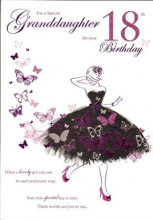 Geburtstagskarte Text 18.Geburtstagskarte Fur Enkelin Zum 18 Geburtstag Englischer