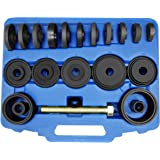 Astro Pneumatic Tool 78825 25-Piece Master Front Wheel Drive Bearing Puller Removal & Installer Adapter Kit W/Grade 8 Drive B