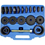 Astro Pneumatic Tool 78825 25-Piece Master Front Wheel Drive Bearing Puller Removal & Installer Adapter Kit W/Grade 8…