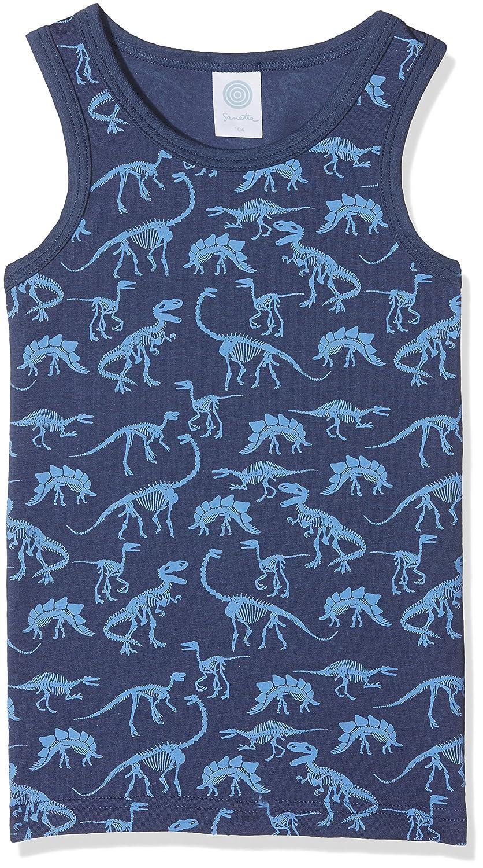 Sanetta Canotta Bambino Sanetta 333980 Blu (Washed Blue 50110) 24 Mesi