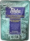 Tilda Pochon Riz Basmati Coco/Piment & Citronnelle 250 g