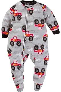 fa51a5a313 Gerber Schlafanzug Fleece 92/98 Einteiler Junge Boy warm Weich Winter  Reißverschluss