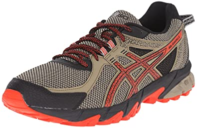 ASICS Men's GEL Sonoma 2 Running Shoe, Bark/Orange/Black, ...