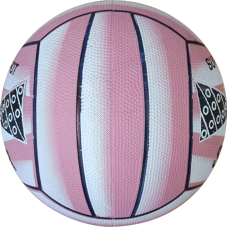Sure Shot - Balón de netball, color rosa rosa rosa Talla:5: Amazon ...