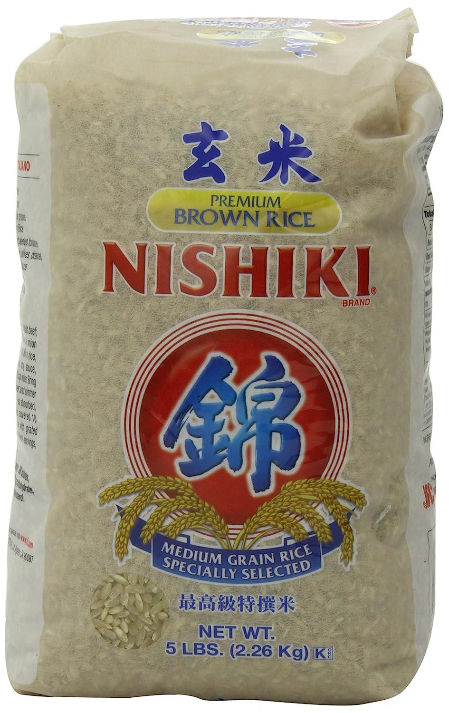 NISHIKI Premium Brown Rice, 5-Pound