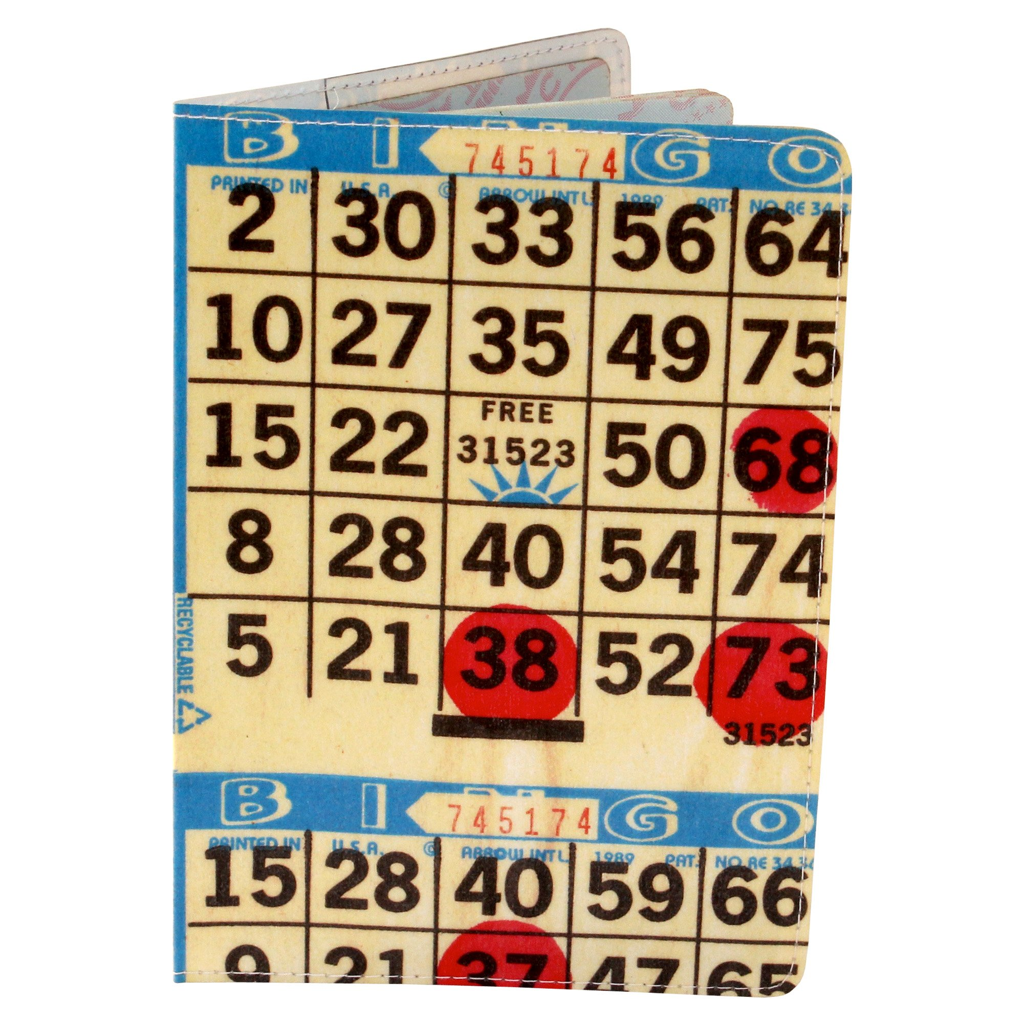 Bingo Card Travel Passport Holder by 11:11