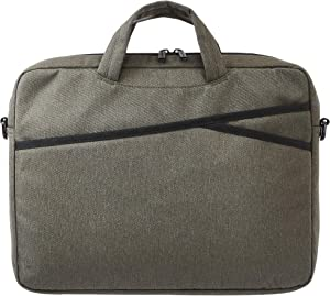 AmazonBasics Business Laptop Case Bag - 15-Inch, Army Green