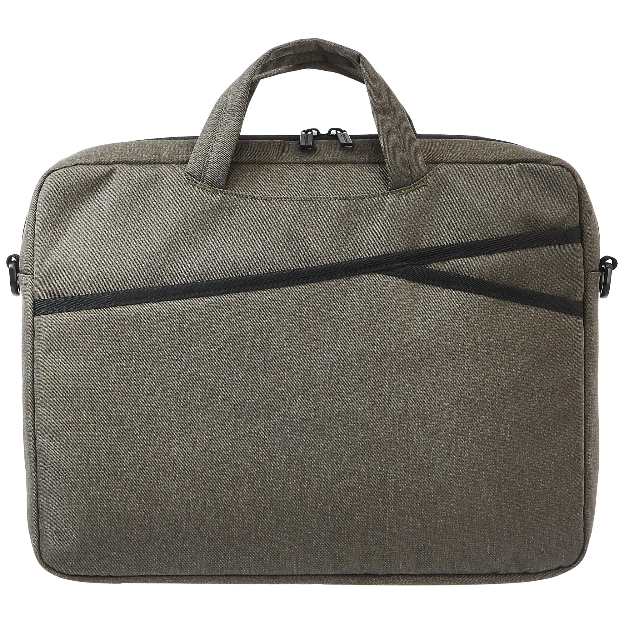 Amazon Basics Business Laptop Case Bag - 15-Inch, Army Green