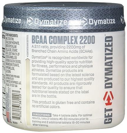 Amazon.com  Dymatize BCAA Complex 2200 8712b1c2273