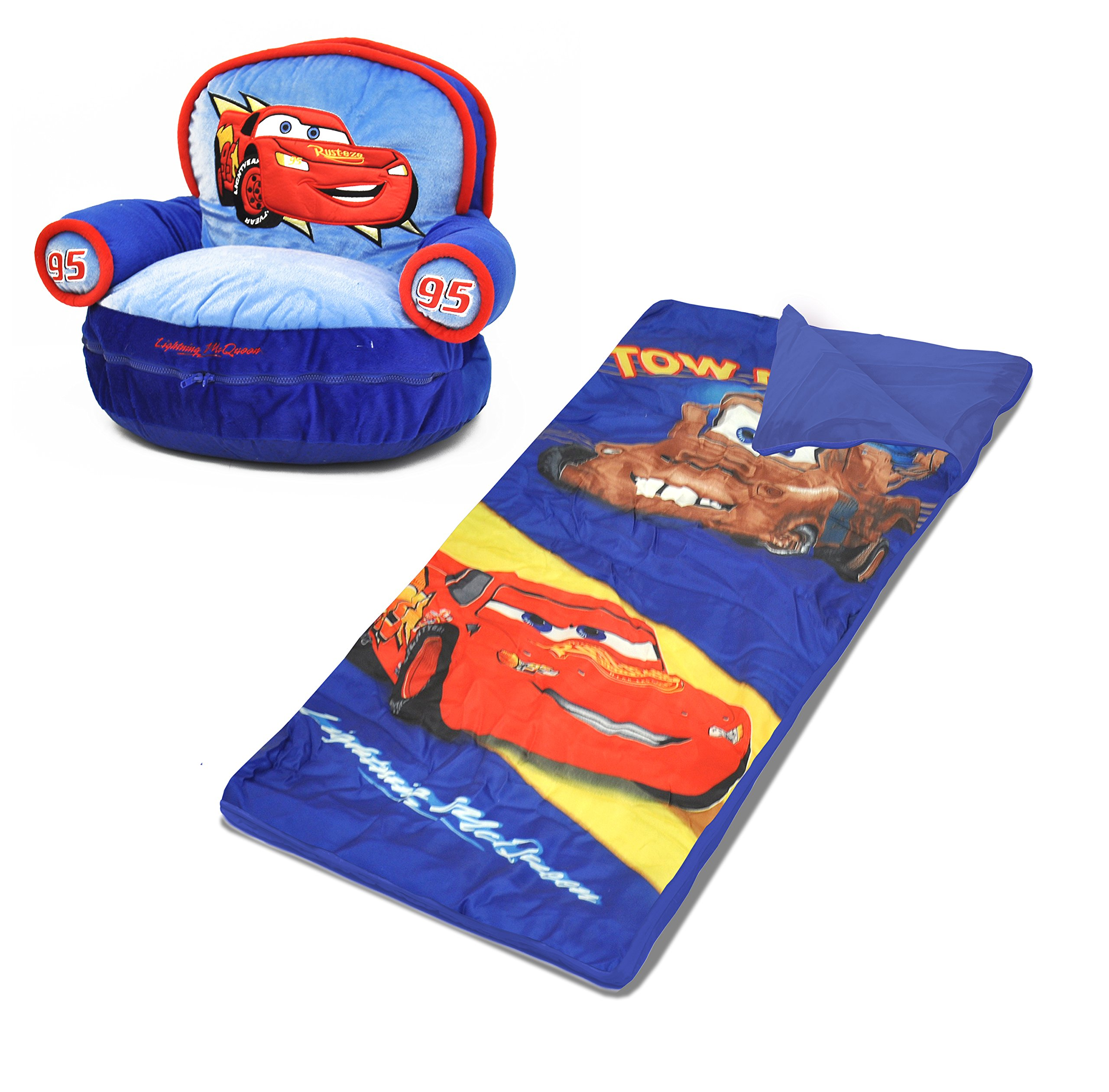 Disney Cars Sofa Chair with Slumber