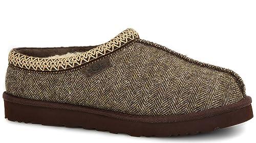 d6cda12ab UGG Men's Tasman Tweed Stout Tweed Slipper 16 D (M): Amazon.ca ...