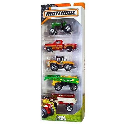 Matchbox, 2015 Series, Farm 5-Pack: Toys & Games