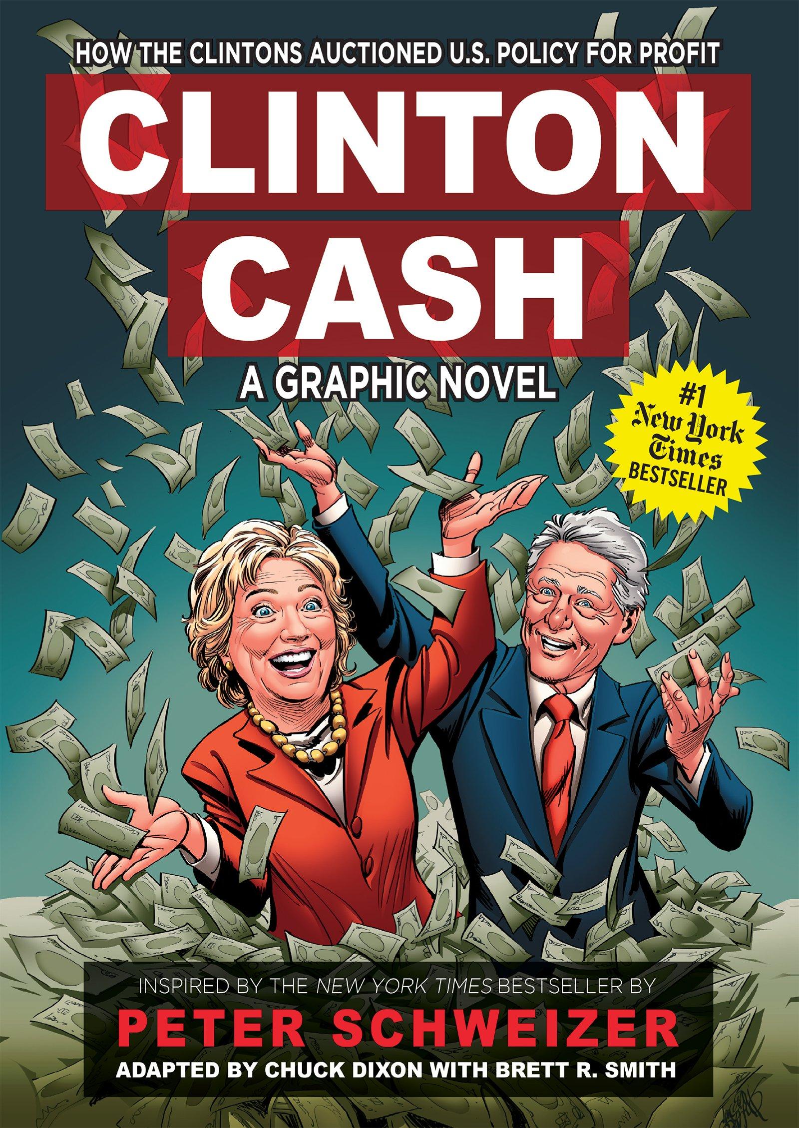 Clinton Cash Graphic Chuck Dixon product image