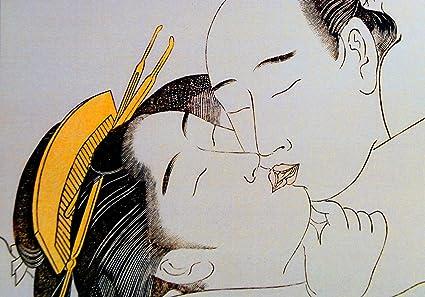Amazon.com: Shunga Prints Shunga Cartel A4 Pintura Arte ...