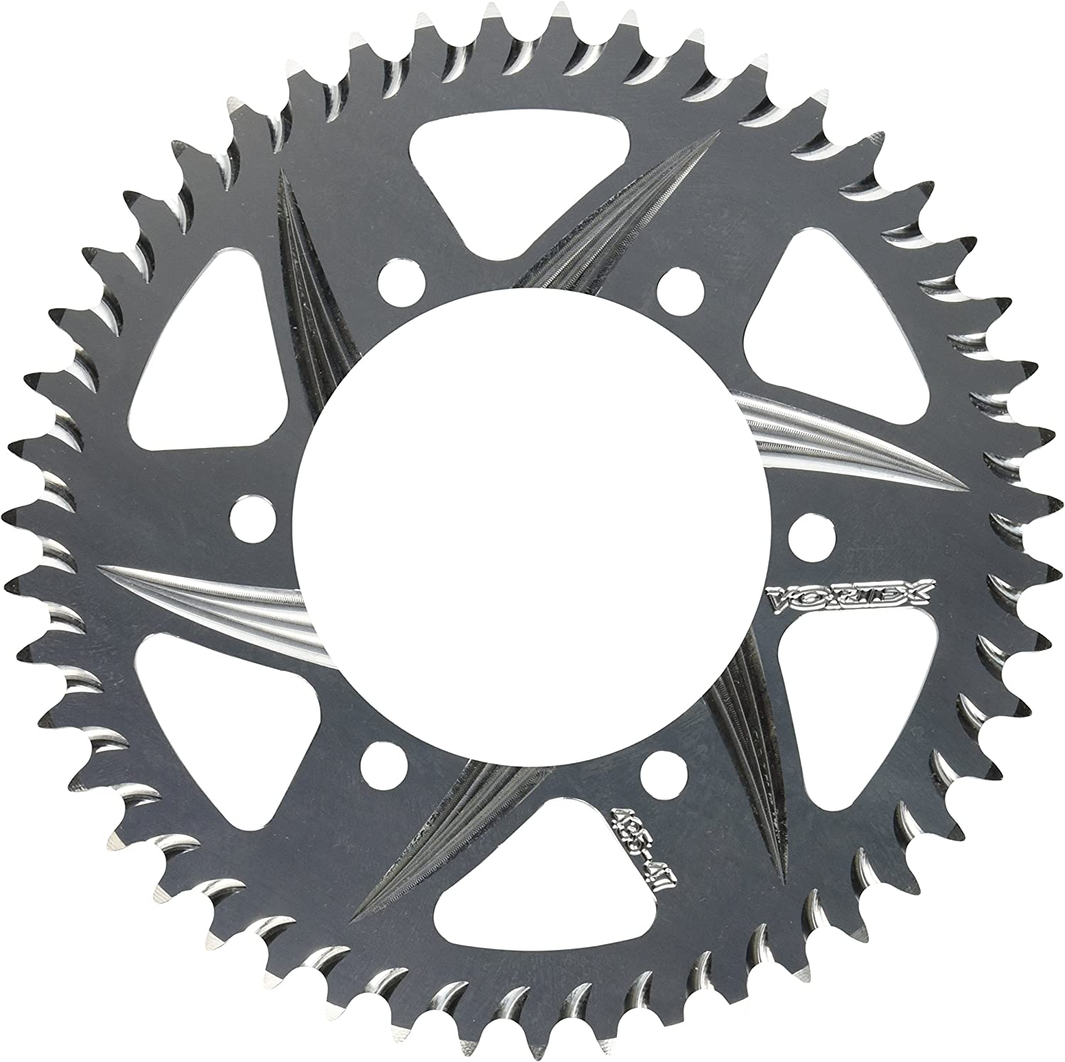 Vortex 436S-43 Black 43-Tooth 530-Pitch Steel Rear Sprocket